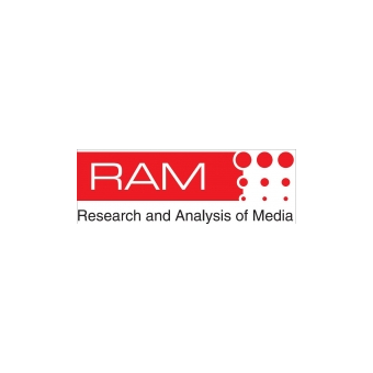 RAM Research and Analysis of Media logo